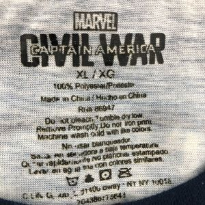 Marvel Shirts - Marvel Civil War Graphic T-Shirt Size XL